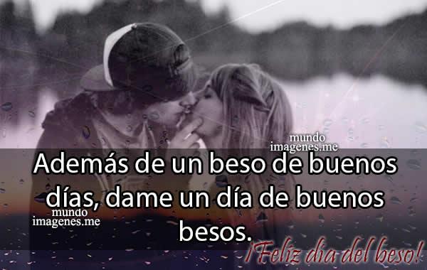 Imagenes Dia Del Beso Con Frases Cortas