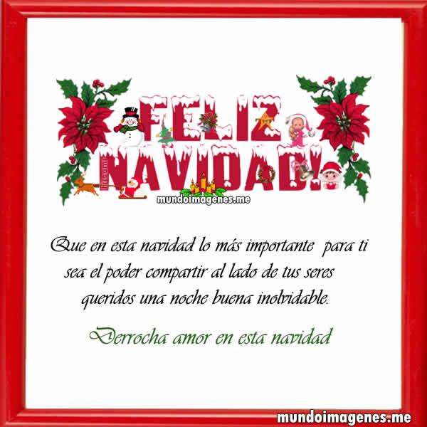 Frases para la navidad postales de navidad bonitos - Postales de navidad bonitas ...