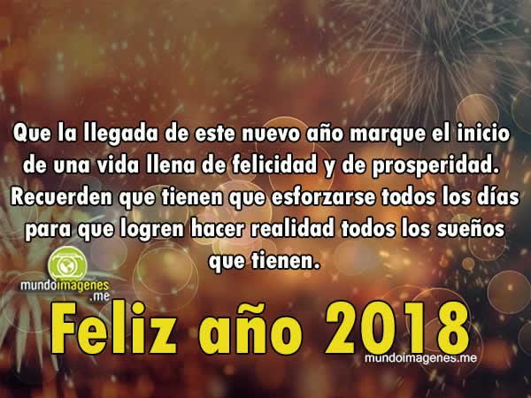 Felicitaciones a o nuevo 2018 mensajes a o nuevo 2018 - Felicitaciones para ano nuevo ...