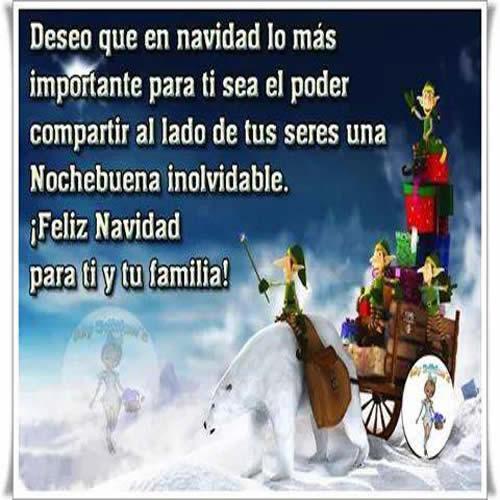 Imagenes De Feliz Navidad Con Frases Para Dedicar Mundo