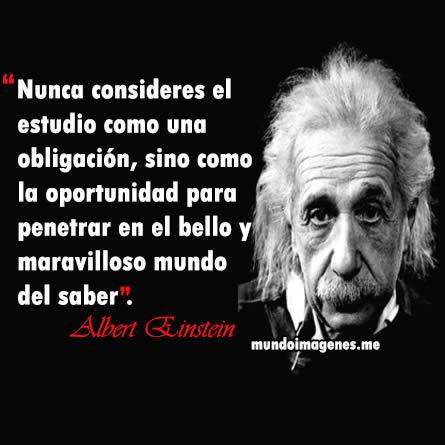 Albert Einstein Frases Celebres Mundo Imagenes Frases Actuales