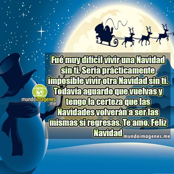 Mensajes de navidad sin un ser querido