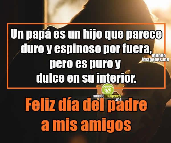 Imagenes Dia Del Padre Para Un Amigo Frases Bonitas Mundo