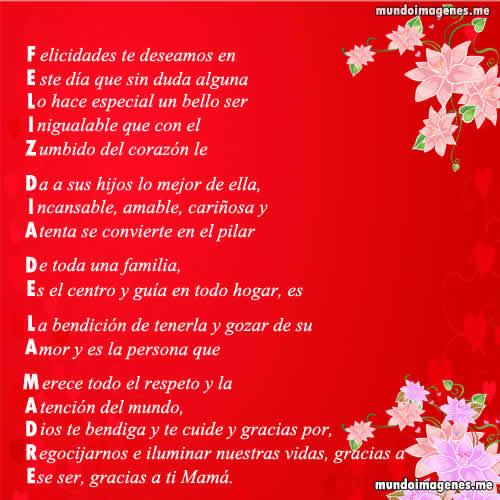 Gracias Madre Poemas poemas para el dia de la madre bonitas con imagenes - mundo