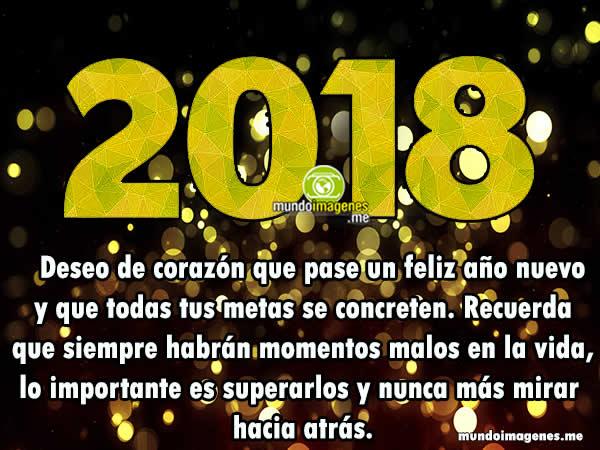 Imagenes De Año Nuevo 2018 Con Frases Lindas Mensajes