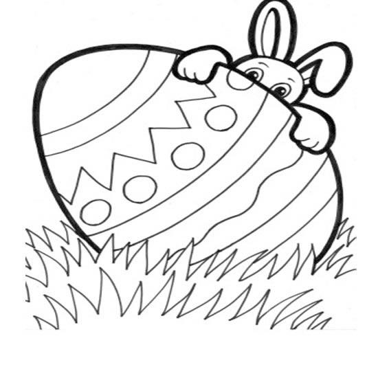 Imagenes De Conejos Y Huevos De Pascua Para Pintar - Mundo Imagenes ...