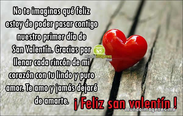 Imagenes De San Valentin Con Frases Romanticas Bonitas