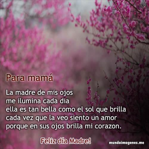 Poemas Para El Dia De La Madre Bonitas Con Imagenes - Mundo ...