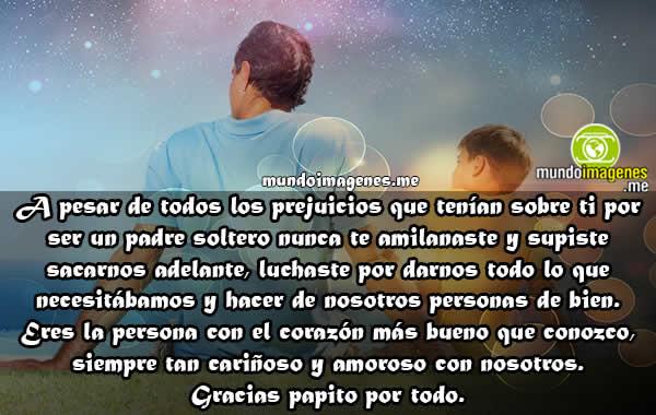Imagenes Para Padres Solteros Con Frases Lindas Emotivas