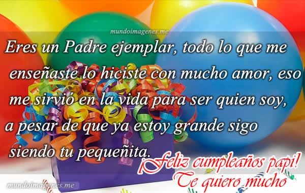 Tarjetas E Imagenes De Feliz Cumpleaños Papá Con Frases