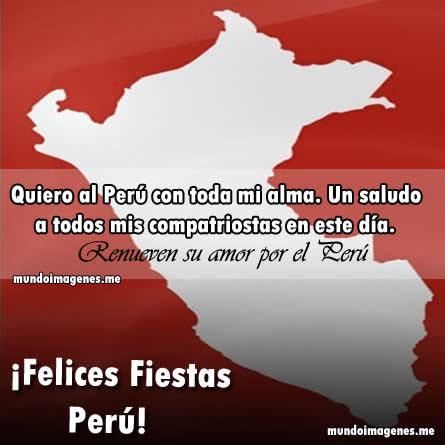 Bonitas Imagenes Con Frases De Felices Fiestas Patrias Peru