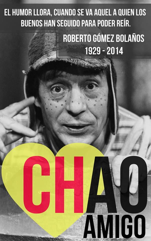 Fallece Chespirito Chavo Del 8 Mundo Imagenes Frases Actuales