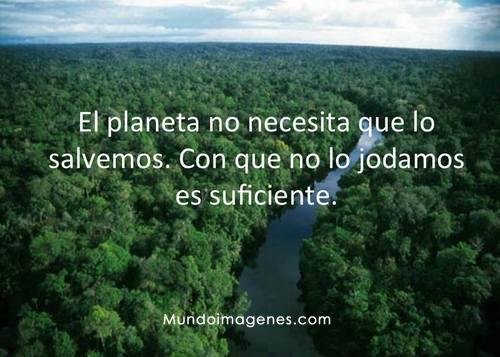 Imagenes De Reflexion Del Planeta