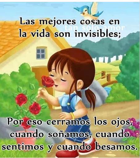 Las Mejores Cosas De La Vida Son Invisibles