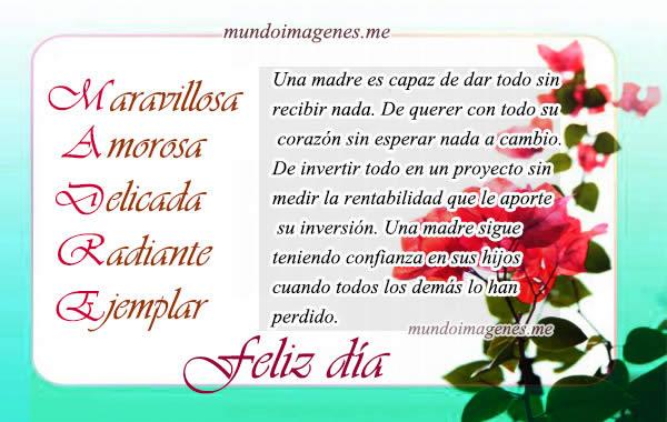 Postales Y Tarjetas Virtuales Dia De La Madre Con Frases Y Palabras De Amor