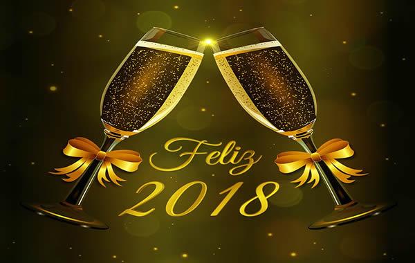 Felicitaciones Año Nuevo 2018 Mensajes Año Nuevo 2018