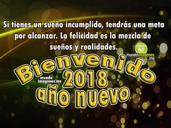 Imagenes Bienvenido Año Nuevo 2018 Palabras Bonitas
