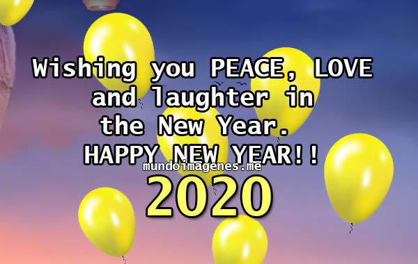 Imagenes De AÑo Nuevo 2020 En Ingles Con Frases Para Dedicar