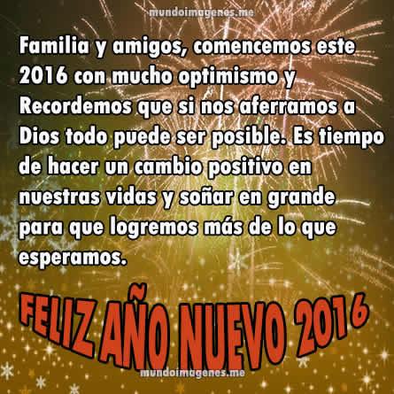 Imagenes De Año Nuevo 2016 Bonitas Con Frases