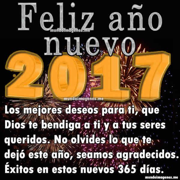 Imagenes De Año Nuevo 2017 Con Frases Hermosas