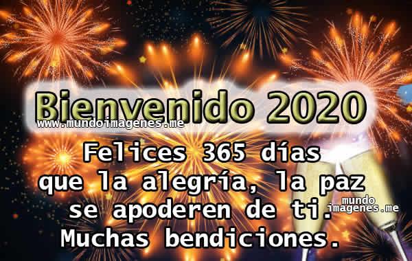 Imagenes De Bienvenido Año Nuevo 2020 Con Frases Bonitas