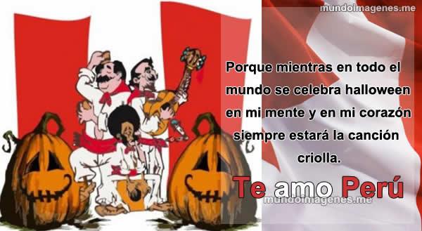 Imagenes De Halloween Versus La Musica Criolla