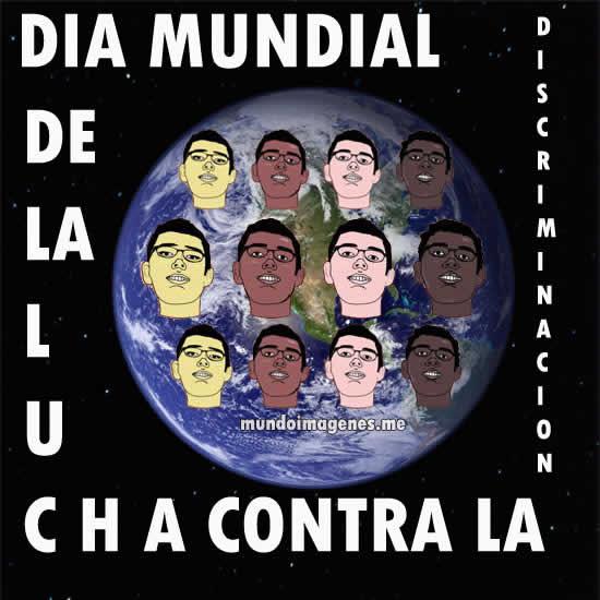 Imagenes Del Dia Mundial Contra La Discriminacion