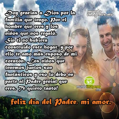 Imagenes Dia Del Padre Para Mi Esposo Frases De Amor