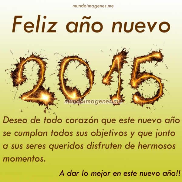 Imagenes Feliz Año 2015 Con Frases Bonitas