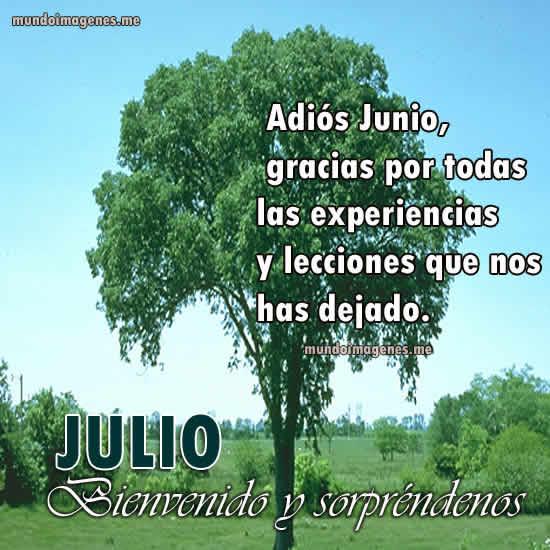 Imagenes Lindas De Bienvenido Julio