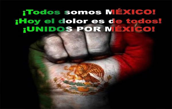 Imagenes Mexico Terremoto 19 Septiembre Frases De Aliento