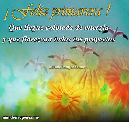 Imagenes Originales Con Frases Y Mensajes De La Primavera