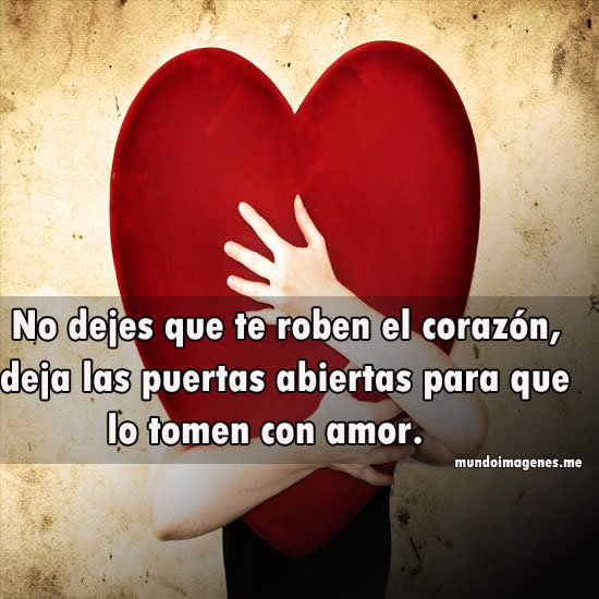 Imagenes De Corazones Con Frases De Amor  bellas