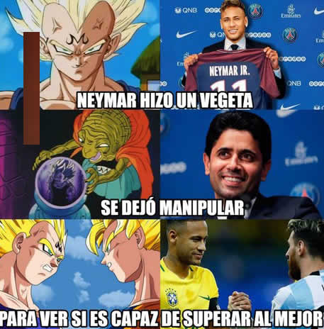 Memes De Neymar Se Va Del Barcelona 2017