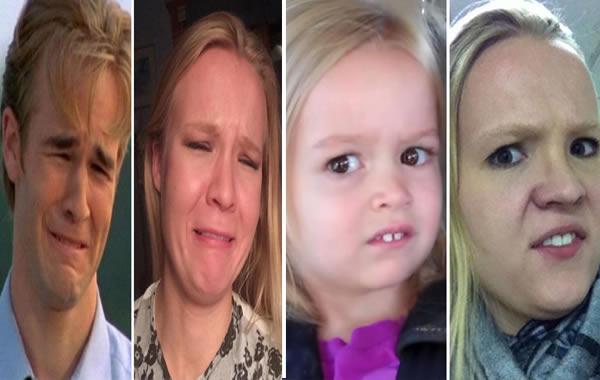Mujer Recrea Expresiones Graciosas De Los Personajes De Los Memes