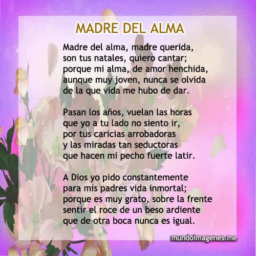 Poemas Para El Dia De La Madre Bonitas Con Imagenes