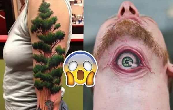 Tatuajes 3d Increibles Imagenes En El Cuerpo